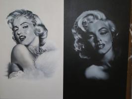 AEROGRAF- Marilyn Monroe
